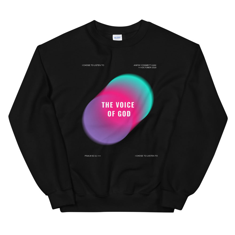 The Voice of God Sweatshirt