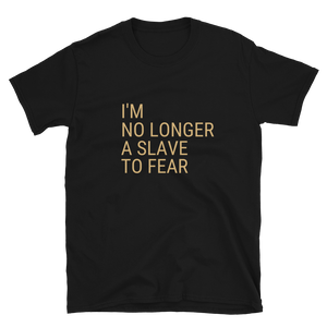 No Longer A Slave to Fear