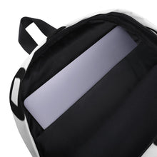 Joyful Backpack - Black on White