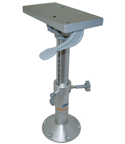 "Adjustable Pedestals with Seat Slide - 435mm (17"") to 635mm (25"")"