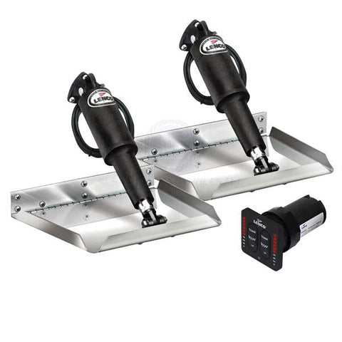 Lenco™ Edge Mnt Kit W/ Electro Polished Plates Inc. LED Switch