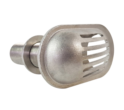 Through Hull Intake Strainer 316 Stainless Steel 1""