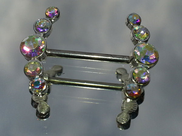 Gem Encrested Nipple Jewelry