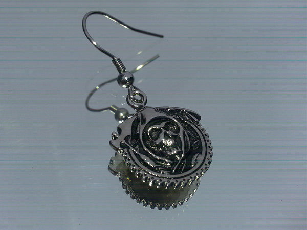 Sons of Anarchy Reaper Earrings