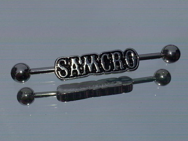 Sons of Anarchy Surgical Steel SAMCRO Industrial