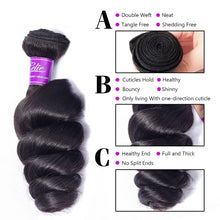 Load image into Gallery viewer, Brazilian Loose Waves 3 Bundles - faveux-fashion