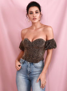 """Gold Tube"" Top"