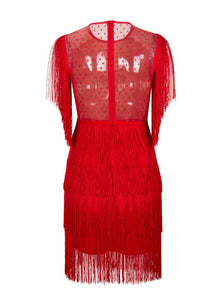 """All Dolled Up"" Red Dress"