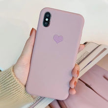 Load image into Gallery viewer, Soft silicone Matte Phone Case