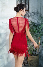 "Load image into Gallery viewer, ""All Dolled Up"" Red Dress"