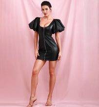 "Load image into Gallery viewer, ""Born to Die"" Black Dress"