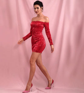 """Anytime"" Red Dress"