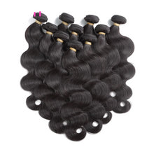 Load image into Gallery viewer, Brazilian 10Pcs Lot Virgin Body Wave Human Hair - faveux-fashion