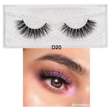 Load image into Gallery viewer, 3D Mink Crossing Mink Lashes - faveux-fashion