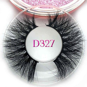 Rose  3D thick Volume mink lashes - faveux-fashion