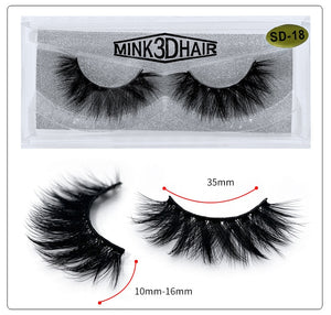 Volume 3D Mink Thick Lashes Extension - faveux-fashion