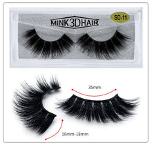 Load image into Gallery viewer, Volume 3D Mink Thick Lashes Extension - faveux-fashion