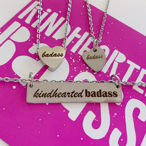New Kindhearted Badass Pieces are here!