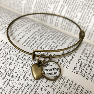 Worthy Charm Bracelet with Sweetheart Charm