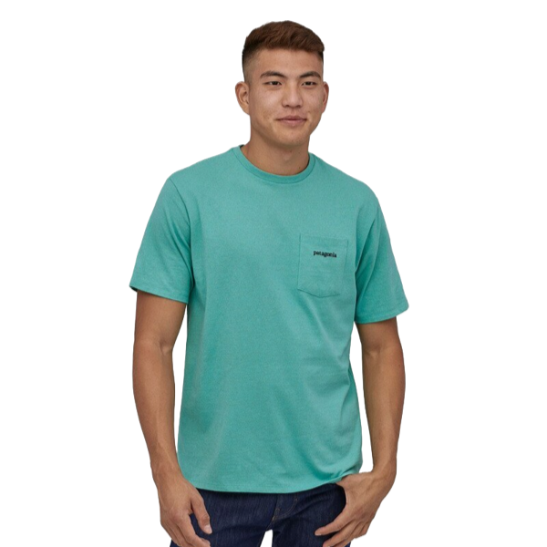 LINE LOGO RIDGE POCKET RESPONSIBIL Light Beryl Green
