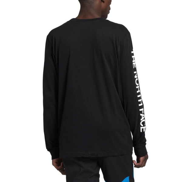 MEN'S LONG-SLEEVE TNF™ SLEEVE HIT TEE TNF BLACK
