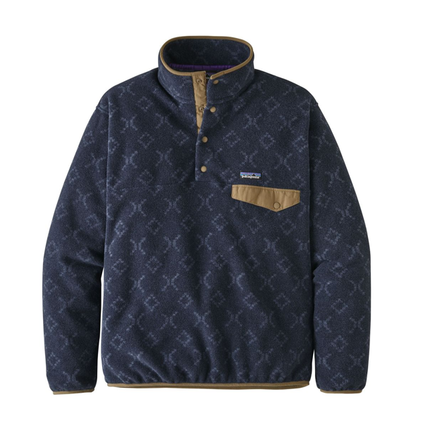 Patagonia Men's Light Weight Synch Snap-T Pull Over Goshawk New Navy