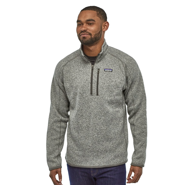 Men's Better Sweater 1/4 Zip Stonewash