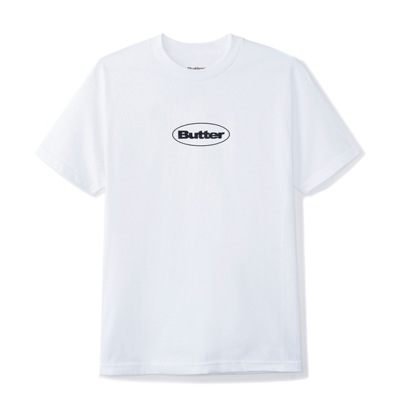 Puff Badge Logo Tee White