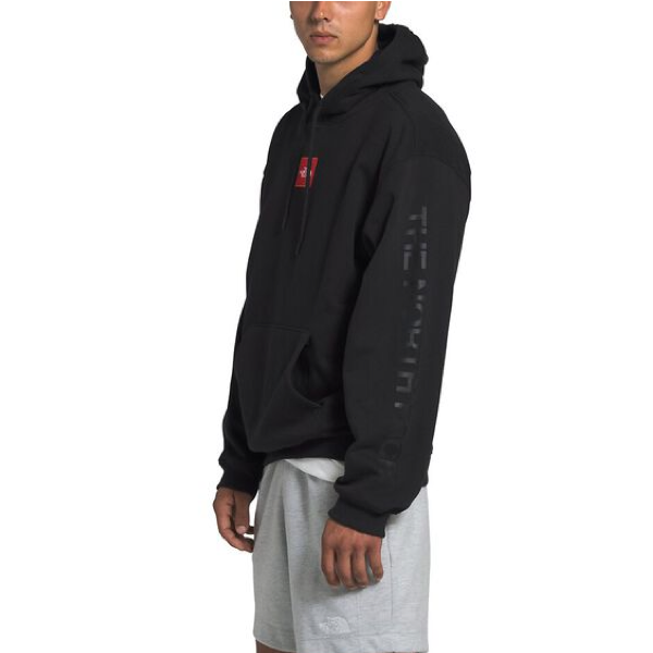 MEN'S BOX DROP PULLOVER HOODIE TNF BLACK