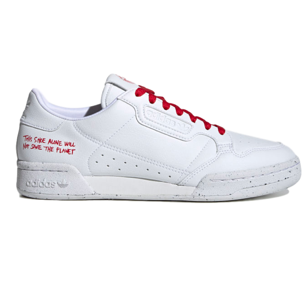 CONTINENTAL 80 SHOES CLOUD WHITE / CLOUD WHITE / SCARLET