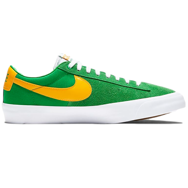Nike SB Zoom Blazer Low Pro GT Lucky Green/Black/White/University Gold
