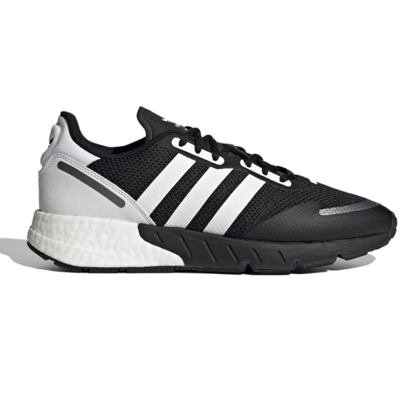 ZX 1K BOOST SHOES Core Black / Cloud White / Black Silver