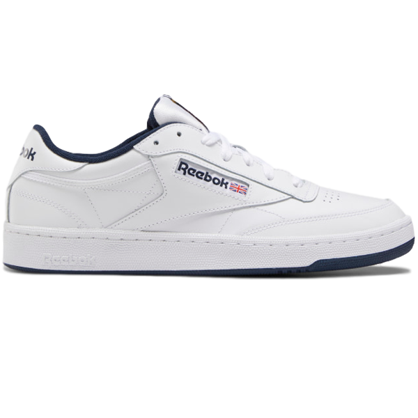CLUB C 85 SHOES INTENSE WHITE / NAVY
