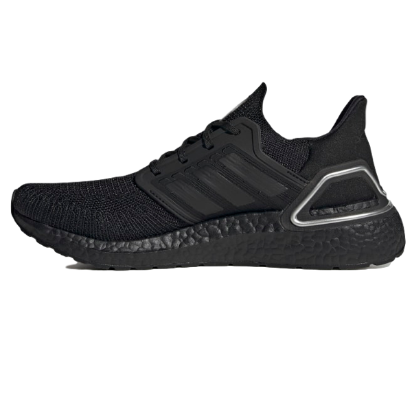 ULTRABOOST 20 SHOES Core Black / Core Black / Silver Metallic