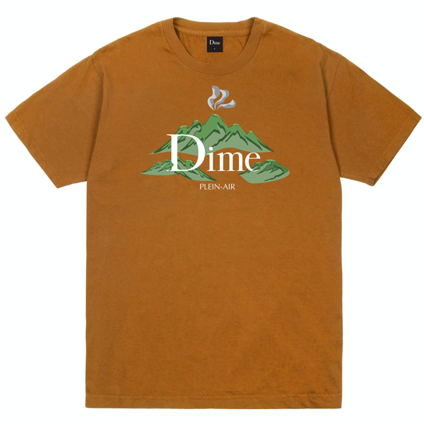 DIME PLEIN AIR T-SHIRT COFFEE