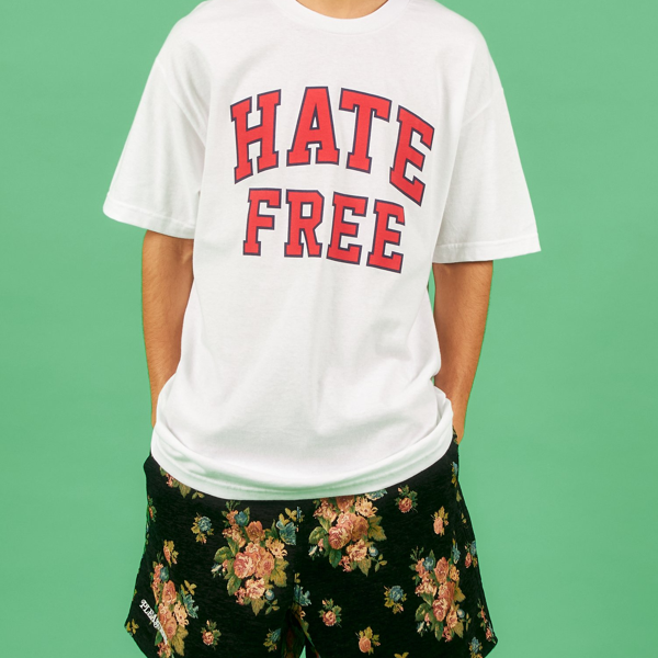 HATE FREE T-SHIRT WHITE