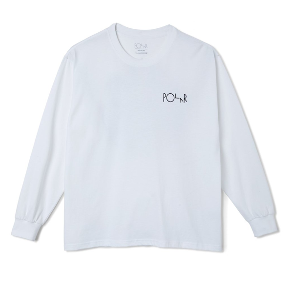 SEQUENCE LS TEE- WHITE