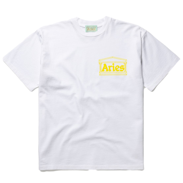 Temple SS Tee White