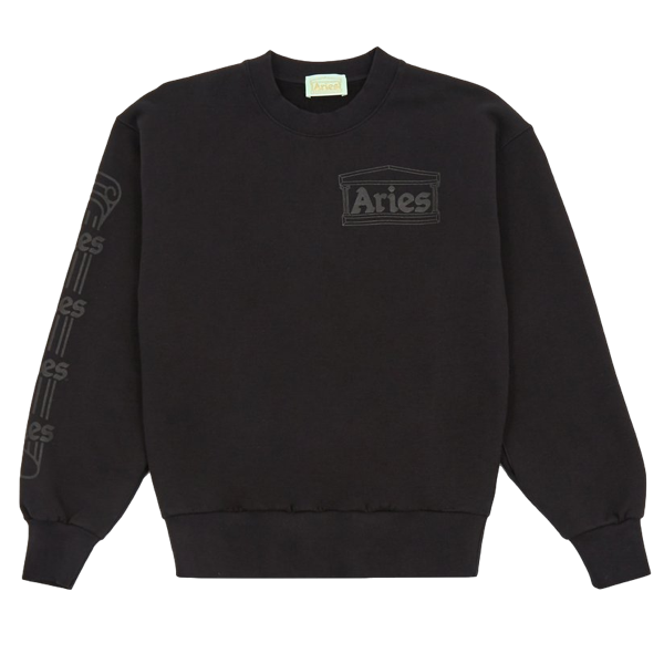 COLUMN SWEATSHIRT BLACK