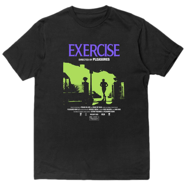 EXERCISE T-SHIRT BLACK