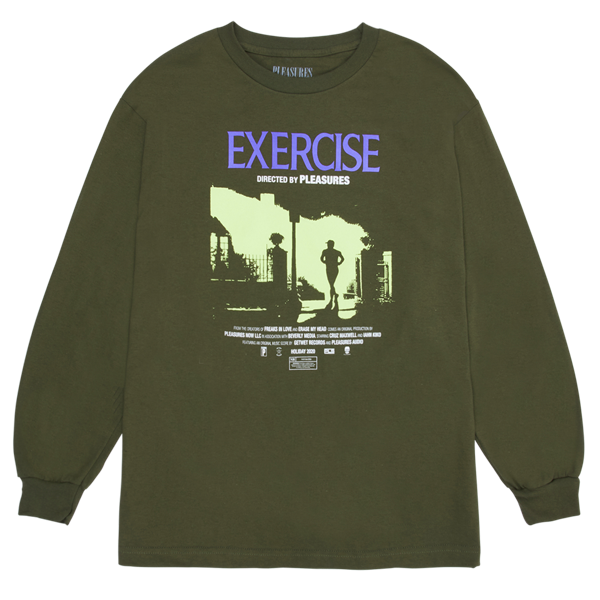 EXERCISE LONG SLEEVE T-SHIRT OLIVE