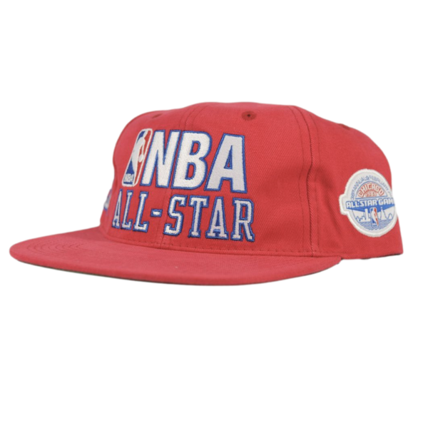 Mitchell & Ness NBA All Star '88 West Snapback Red