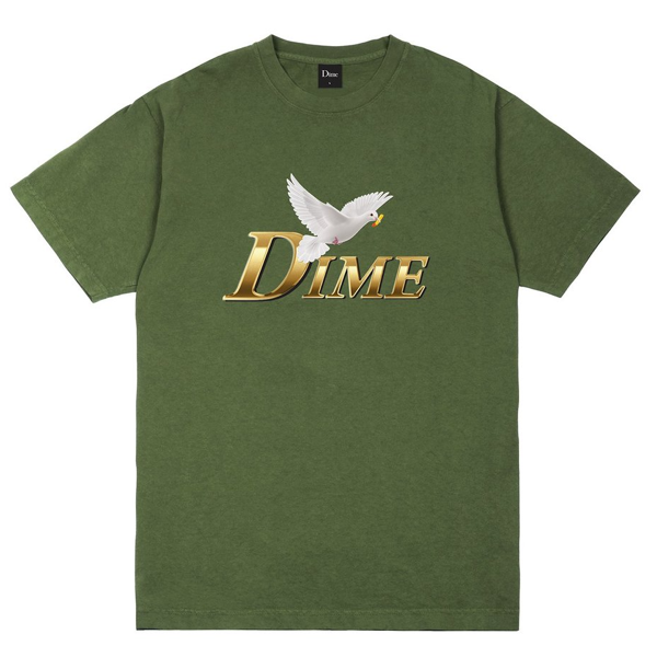 FRY DOVE T-SHIRT  OLIVE