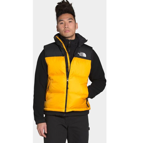 MENS 1996 RETRO NUPTSE VEST SUMMIT GOLD