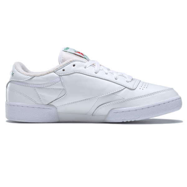 CLUB C 85 SHOES WHITE WHITE  GLEN GREEN