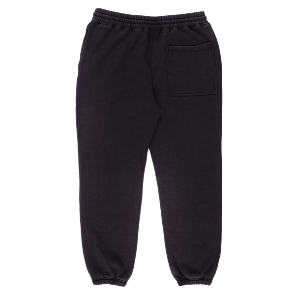 BURNOUT DYED SWEATPANT BLACK