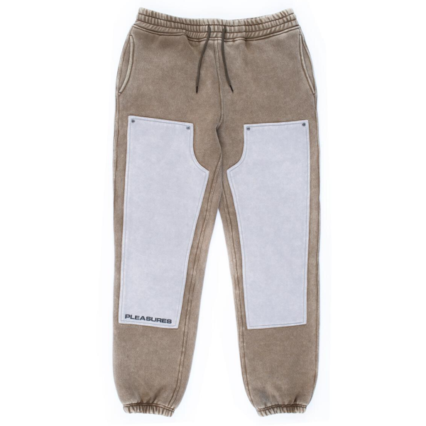BURNOUT DYED SWEATPANT OLIVE