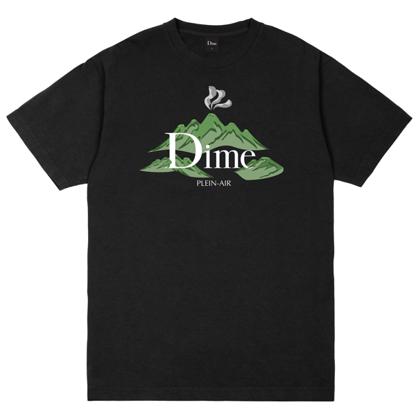 DIME PLEIN AIR T-SHIRT BLACK