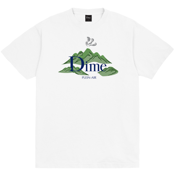 DIME PLEIN AIR T-SHIRT WHITE