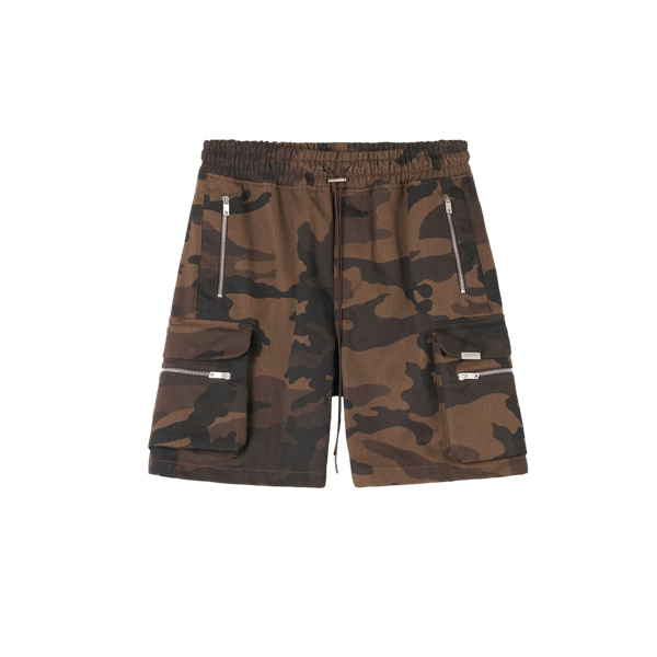 MILITARY SHORTS - BROWN CAMO